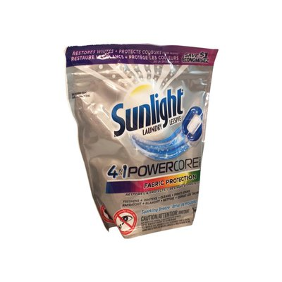Sunlight Powercore Pacs Sparking Breeze Laundry Fabric
