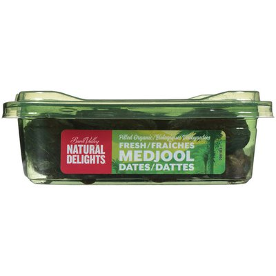 Natural Delights Pitted Organic Fresh Medjool Dates