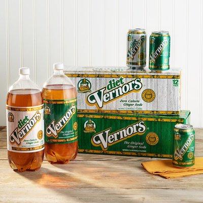 Diet Vernors Ginger Soda