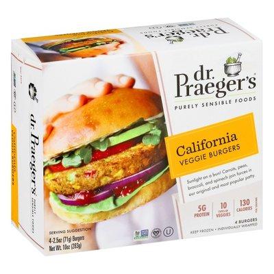 Dr. Praeger's Veggie Burgers, California