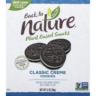 Back to Nature Cookies, Classic Creme