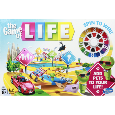 Hasbro The Game of Life, Ages 8+