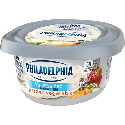 Philadelphia Garden Vegetable Reduced Fat Cream Cheese Spread with a Third Less Fat