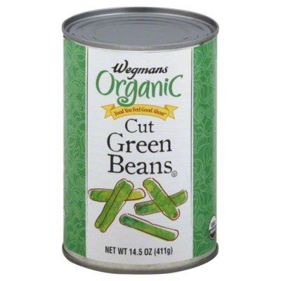 Wegmans Organic Food You Feel Good About Cut Green Beans