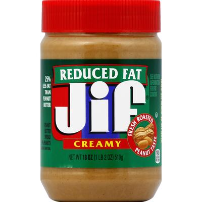 Jif Peanut Butter Spread, Reduced Fat, Creamy