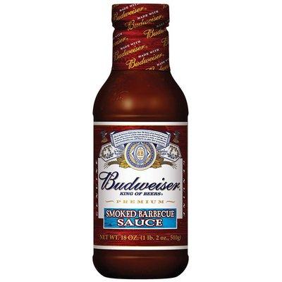 Budweiser Sauces Smoked Barbecue Sauce