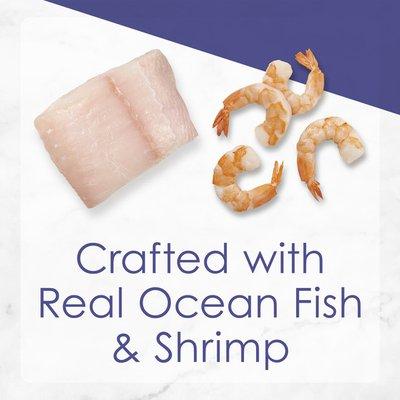 Purely Fancy Feast Gravy Wet Cat Food, Grilled Seafood Feast in Gravy