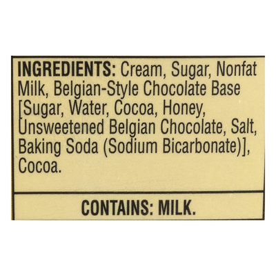 Turkey Hill Ice Cream, All Natural, Belgian Style Chocolate