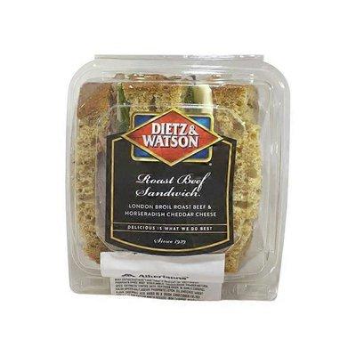 Dietz & Watson Roast Beef, Horseradish & Cheddar Sandwich