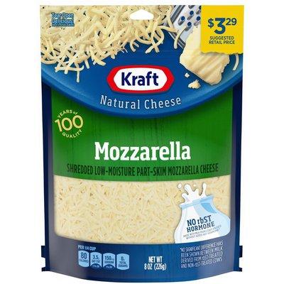 Kraft Natural Cheese Mozzarella Shredded