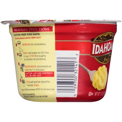 Idahoan Buttery Homestyle Mashed Potatoes Cup