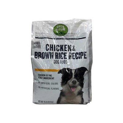 Open Nature Original Chicken & Brown Rice Dog Food