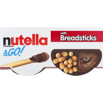 Nutella Go! Hazelnut Spread + Breadsticks