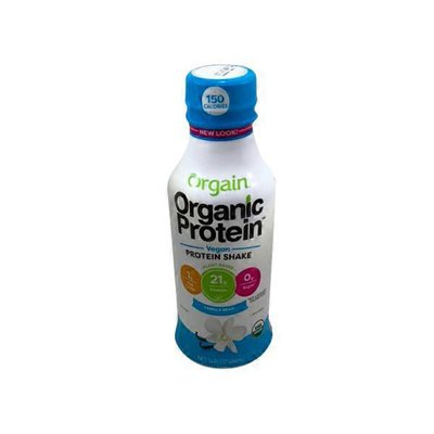 Orgain Vanilla Bean Plant Based Protein Shake
