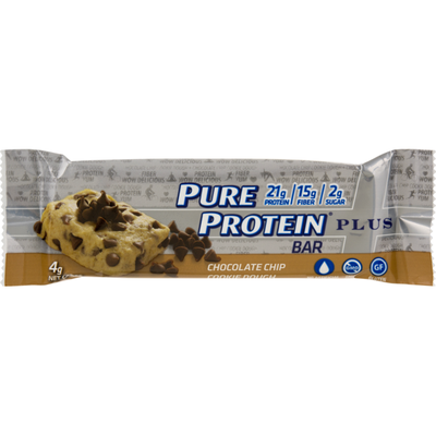 Pure Protein Bar Plus Chocolate Chip Cookie Dough