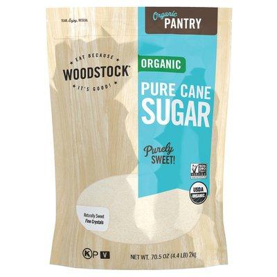 WOODSTOCK Organic Cane Sugar