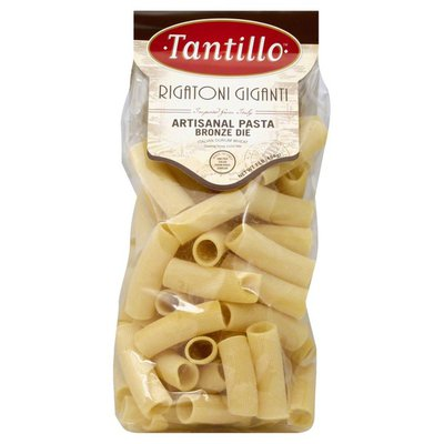 Tantillo Pasta, Artisanal, Rigatoni Giganti, Bag