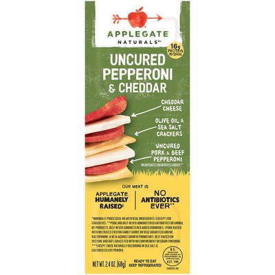Applegate Uncured Pepperoni & Cheddar