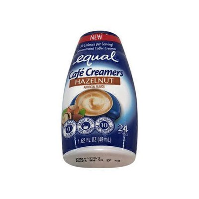Equal Hazelnut Cafe Creamers