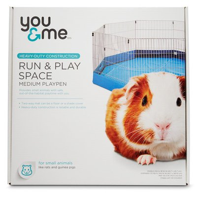 You & Me Run & Play Space Medium Playpen For Small Animals