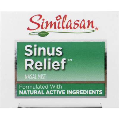 Similasan Sinus Relief, Nasal Mist