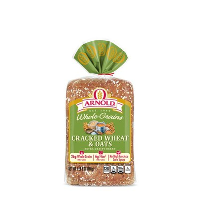 Brownberry/Arnold/Oroweat Whole Grains Cracked Wheat & Oats Bread