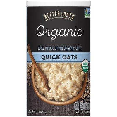 Better Oats Organic Quick Oats