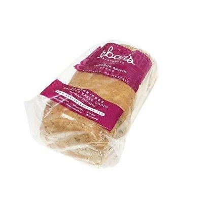 Eban's Bakehouse Gluten Free Cinnamon Raisin Bread