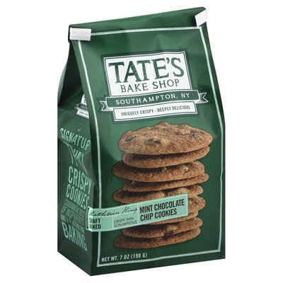 Tate's Bake Shop Cookies, Mint Chocolate Chip