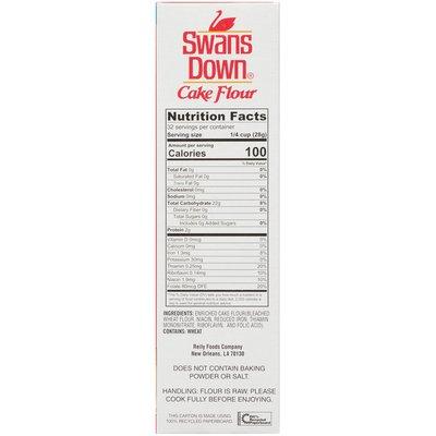 Swans Down Enriched Bleached Cake Flour