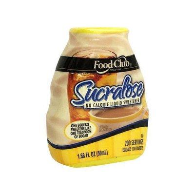 Food Club Sucralose Liquid Sugar Substitute
