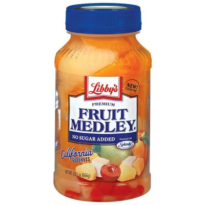 Libby's Premium No Sugar Added Fruit Medley