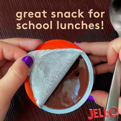 Jell-O Original Chocolate Ready-to-Eat Pudding Cups Snack