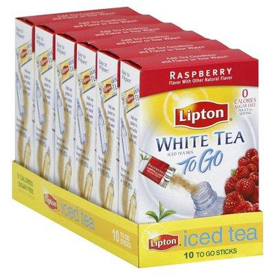 Lipton Iced Tea Mix, White Tea, Raspberry