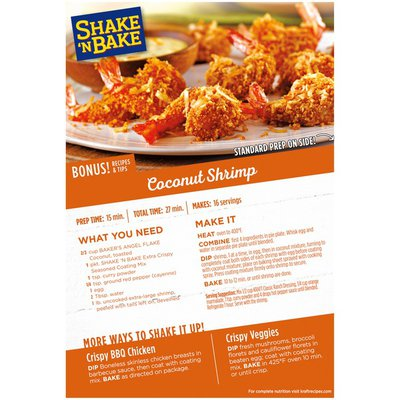 Shake 'N Bake Extra Crispy Seasoned Coating Mix