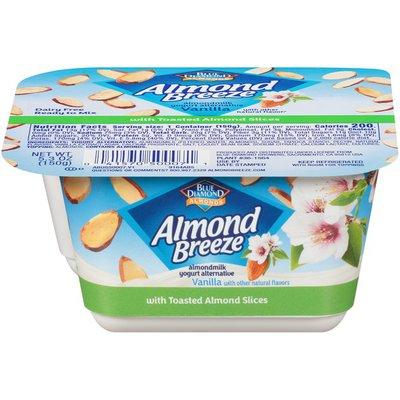 Almond Breeze Vanilla Yogurt Alternative with Toasted Sliced Almonds