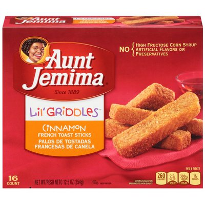 Pearl Milling Company Lil' Griddles Cinnamon French Toast Sticks