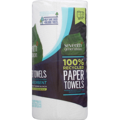 Seventh Generation Paper Towels, 2-Ply
