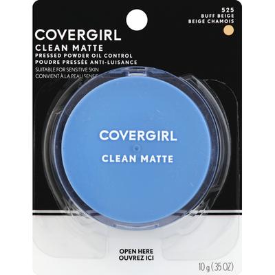 CoverGirl Clean Matte Pressed Powder Buff Beige