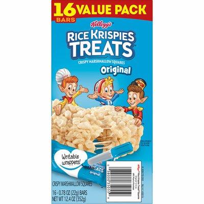Kellogg's Rice Krispies Treats Marshmallow Snack Bars, Kids Snacks, School Lunch