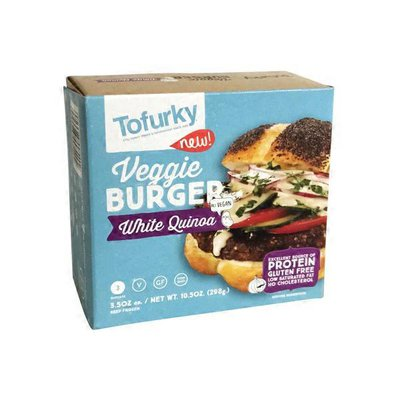 Tofurky Veggie Burger, White Quinoa