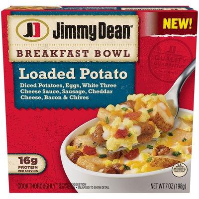Jimmy Dean Breakfast Bowl Loaded Potato