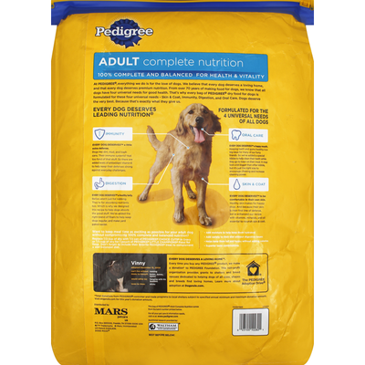 Pedigree Food for Dogs, Adult Complete Nutrition