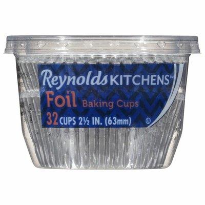 Reynolds Baking Cups, Foil, 2.5 Inch
