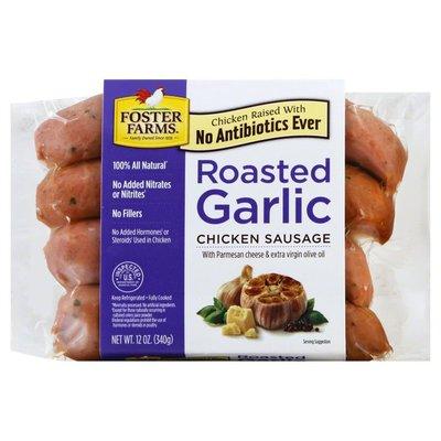 Foster Farms Chicken Sausage, Roasted Garlic