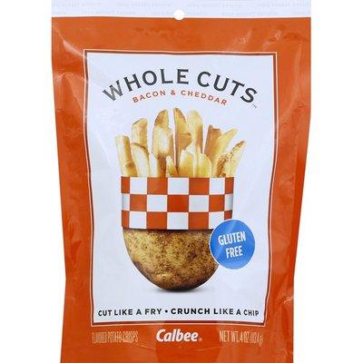 Calbee Whole Cuts, Bacon & Cheddar