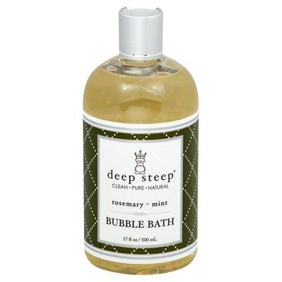 Deep Steep Bubble Bath, Rosemary - Mint