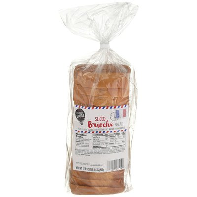 Culinary Tours Sliced Brioche Bread