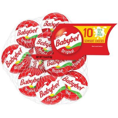 Babybel Original Semisoft Cheese