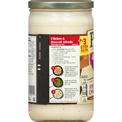 Prego® Roasted Garlic Parmesan Alfredo Sauce